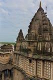 Exterior shots of Ahilya fort Maheshwar Stock Photography