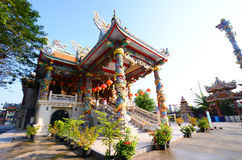 Exterior the shrine chinese beliefs religious, thailand Stock Image
