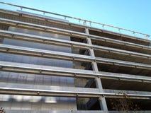 Exterior side of Parking Garage Building. In San Francisco, California Stock Photos