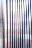 Exterior siding metal strip Stock Image