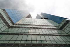 Exterior of a skyscraper Royalty Free Stock Photography