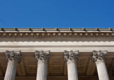 Exterior of St Georges Hall, Liverpool, UK. Stock Photo
