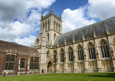 Exterior of St Johns College Chapel, England Royalty Free Stock Photo