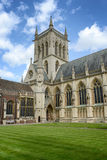 Exterior of St Johns College Chapel, England Stock Image