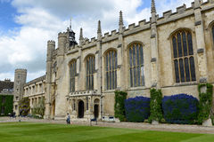 Exterior of St Johns College Chapel, England Stock Photo