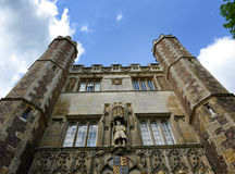 Exterior of St Johns College Chapel, England Stock Photos