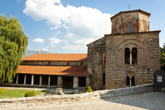 Exterior of St. Sofia church in Ohrid. Royalty Free Stock Image