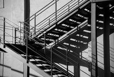 Exterior Staircase Stock Photography