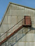 Exterior Staircase On Building Stock Photography