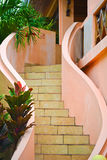 Exterior staircase Stock Image