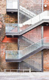 Exterior stairs Royalty Free Stock Photography