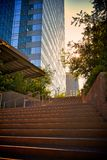 Exterior Stairway Entry Stock Images