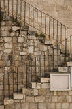 Exterior stone stairs Stock Photos