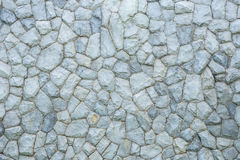 Exterior stone wall decorative in the garden Stock Photography