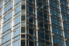Exterior structure of business building Royalty Free Stock Photography