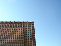 Exterior of tall building stock image