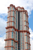 Exterior of a tall building Stock Images