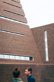 Exterior of Tate Modern New Building Royalty Free Stock Image