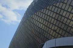 Exterior of Tele 2 Arena detail Stock Image