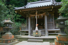 Exterior of a temple Royalty Free Stock Image
