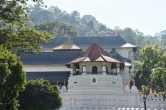 Exterior of Temple of the Sacred Tooth Relic Stock Photo