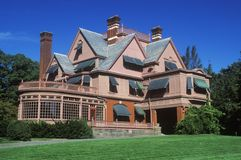 Exterior of Thomas Edison home Royalty Free Stock Images