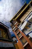 Exterior of Tibetan Monastery Royalty Free Stock Image