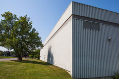 The exterior of to one of the plants in Canada. The exterior of to one of the plants Stock Photo
