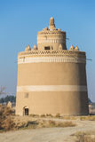 Exterior of the traditional pigeon house in Yazd province, Iran. Royalty Free Stock Image
