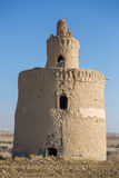 Exterior of the traditional pigeon house in Yazd province, Iran. Stock Image