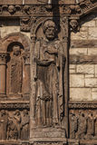 Exterior of Trinity Church. The historic Trinity Church at Copley square in Boston Massachusetts Royalty Free Stock Image