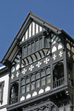 Exterior of Tudor building Royalty Free Stock Images