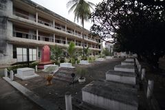 Tuol Sleng Genocide Museum, Phnom Penh, Cambodia Royalty Free Stock Photography