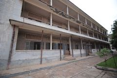 Tuol Sleng Genocide Museum, Phnom Penh, Cambodia Royalty Free Stock Photos