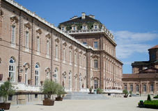 Exterior of Venaria Reale Palace near Turin, Italy Royalty Free Stock Image