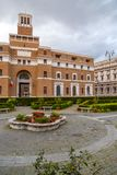 Exterior view of Anmig building in Rome, Italy stock images