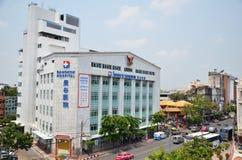 Exterior view of Bangkok Hospital in Chinatown, Bangkok Stock Photo