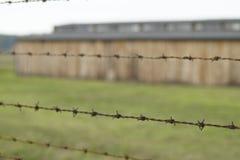 Barracks Birkenau stock photography