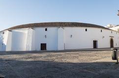 Exterior view of the bullring in Ronda, Malaga, Spain Royalty Free Stock Photos