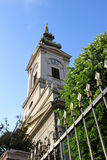 Exterior view of the Cathedral Church of St. Michael the Archangel in Belgrade Royalty Free Stock Photo
