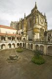 Exterior view of Chapter House, Templar Castle and the Convent of the Knights of Christ, founded by Gualdim Pais in 1160 AD, is a  Stock Image