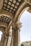 Exterior view of the Church of All Nations or the Basilica of the Agony on the Mount of Olives in Jerusalem. Exterior view of the Church of All Nations or the royalty free stock photos