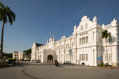 Exterior view of City Hall, George Town royalty free stock photos