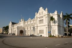 Exterior view of City Hall, George Town stock photography