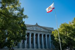 Exterior view of the Court of Appeal, Third Appellate District. At Sacramento, California Stock Photos