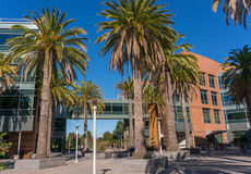 Exterior view of Google office Royalty Free Stock Photo