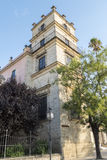 Exterior View of the Jerez de la Frontera Alcazar Royalty Free Stock Photos