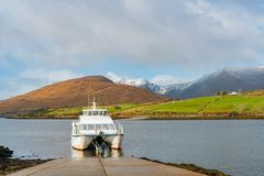 Exterior view of the Killary Fjord Boat Cruise