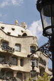Exterior view of La Pedrera Royalty Free Stock Photography