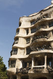 Exterior view of La Pedrera Stock Image